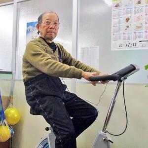 自転車エルゴメーター等の機器を備え、自主訓練をサポートいたします。
