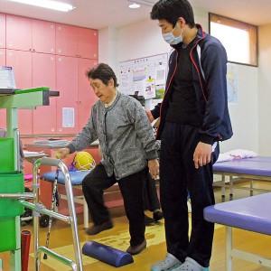専属の理学療法士の個別指導により身体機能の維持改善をサポートいたします。