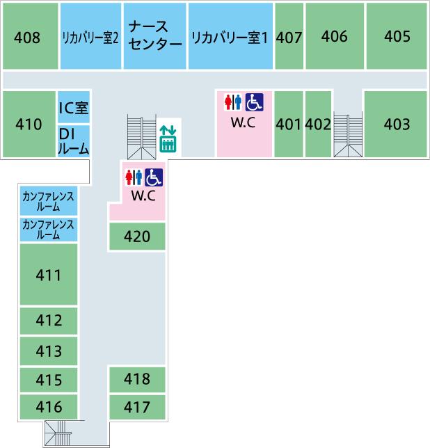 菅整形フロア図-4F